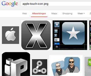 Voorbeelden apple touch icon